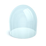 gör ren kupolexponeringsglas Fotografering för Bildbyråer