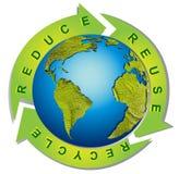 gör ren miljön stock illustrationer