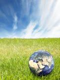 gör ren miljön Arkivbilder