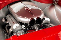 gör ren motormaskinen royaltyfri bild
