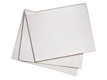 gör ren paper ungefärlig vattenfärgwhite Royaltyfri Foto