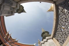 Gör till kung slotten Bangkok Arkivbilder