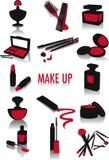 gör upp silhouettes Fotografering för Bildbyråer