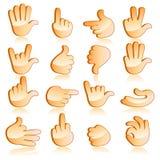 Göra en gest för hand vektor illustrationer