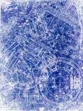 göra en skiss av parchmentarket Royaltyfri Bild