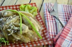 Göra gelé av feg maträtt Royaltyfri Foto