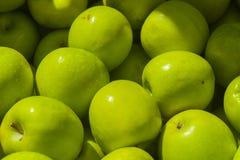 Göra grön äpplen Arkivbild