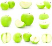Göra grön äpplen Arkivfoto