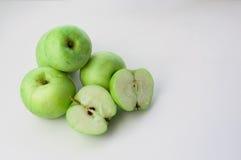 Göra grön äpplen Royaltyfria Foton