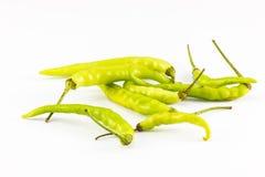 Göra grön chilin royaltyfri foto