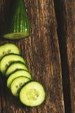 Göra grön gurkan Arkivbild