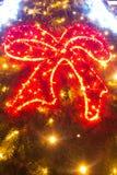 Göra grön julgranen Fotografering för Bildbyråer