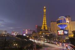 Göra ljusare på Las Vegas Boulevard i Las Vegas, NV på Juli 19, 2 Royaltyfri Bild