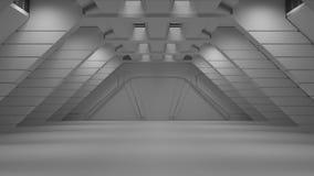 Göra mellanslag miljön som är klar för komp av dina tecken renderin 3D Royaltyfri Foto