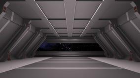 Göra mellanslag miljön som är klar för komp av dina tecken renderin 3D Arkivfoton