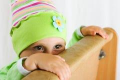 Göra ond ett barn Arkivfoto