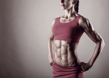 Göra perfekt kroppen Arkivbild