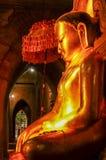 Göra perfekt mystiska buddha som tänds av för solsida för sen eftermiddag sikt Royaltyfri Bild