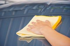 Göra ren bilen royaltyfri foto