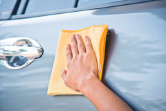 Göra ren bilen Royaltyfri Bild