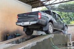 Göra ren bilen Royaltyfria Bilder