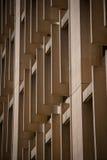 Göra sammandrag arkitektur av hårdnar byggnad Arkivbilder