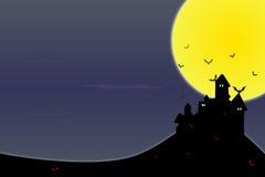 göra sammandrag bakgrund halloween stock illustrationer