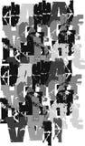 göra sammandrag bakgrundsdiagram stock illustrationer