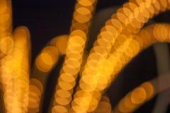 göra sammandrag bakgrundsjullampor Royaltyfri Foto
