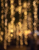göra sammandrag bakgrundsjullampor Royaltyfria Foton