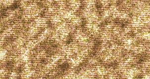Göra sammandrag, blänka för partikelmodellen för glöd den guld- sömlösa öglan, skinande textur för guld- gnistrande stock illustrationer