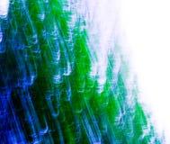göra sammandrag blå green Fotografering för Bildbyråer