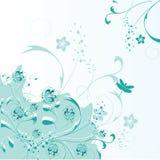 göra sammandrag blom- bakgrund Royaltyfria Bilder
