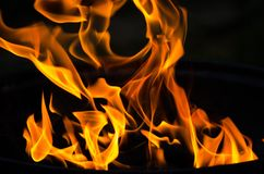 göra sammandrag brand arkivbilder