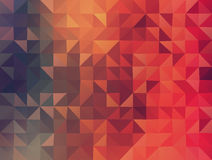 Göra sammandrag 2D geometriska colorfullbakgrund stock illustrationer