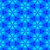 göra sammandrag den blåa blom- modellen seamless illustrationrep Royaltyfri Foto