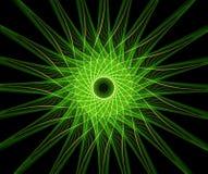 göra sammandrag den de fractal stjärnan Arkivbild