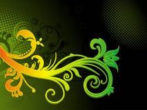 göra sammandrag den färgglada grungeillustrationen Royaltyfri Foto