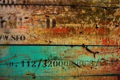 Göra sammandrag den gammala grungeväggen Royaltyfri Fotografi