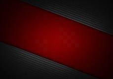 Göra sammandrag den texturerade materiella designen för kolfiber för bakgrund Royaltyfria Foton