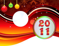 göra sammandrag det nya året för backgorundjul Royaltyfri Bild