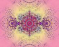 göra sammandrag färgfractalbilden Royaltyfria Bilder