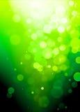 göra sammandrag green för bakgrundsbokeheffekt Royaltyfria Foton