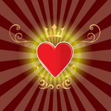 göra sammandrag härlig hjärta Arkivfoton