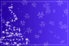Göra sammandrag jultreen stock illustrationer