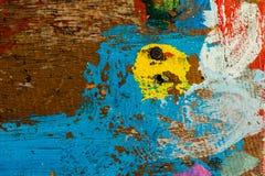 Göra sammandrag mångfärgad bakgrund Fotografering för Bildbyråer