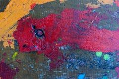 Göra sammandrag mångfärgad bakgrund Arkivfoto