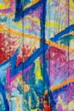 Göra sammandrag mångfärgad bakgrund Arkivfoton