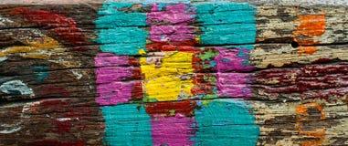 Göra sammandrag mångfärgad bakgrund Royaltyfria Foton