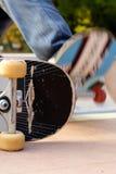 göra sammandrag skateboarden Royaltyfri Fotografi